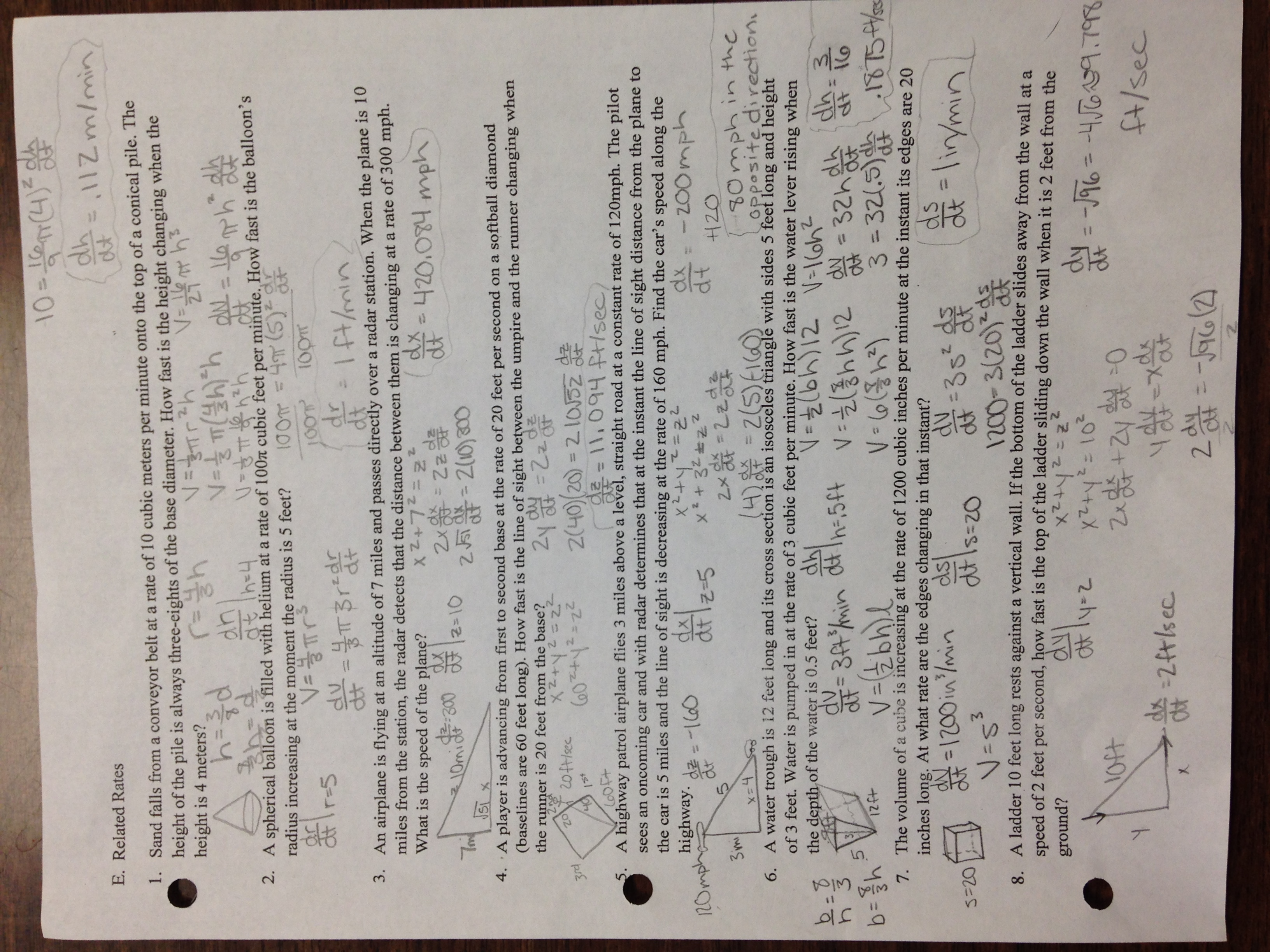 Printables Calculus Optimization Worksheet calculus leah billo worksheet f